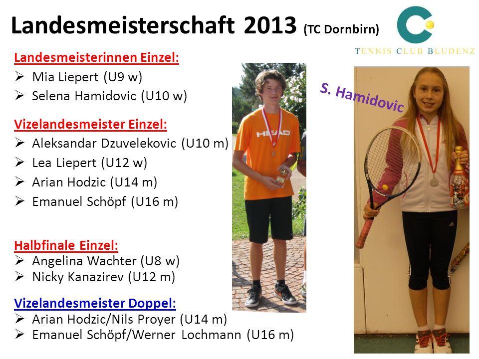 Landesmeisterschaft 2013 (TC Dornbirn)