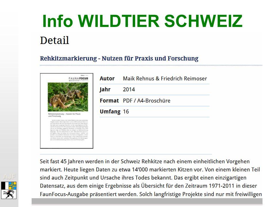 Info WILDTIER SCHWEIZ