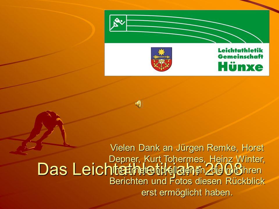 Das Leichtathletikjahr 2008