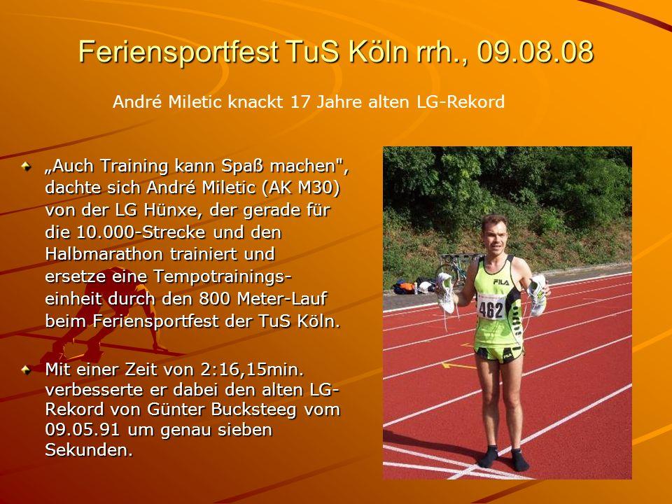 Feriensportfest TuS Köln rrh., 09.08.08
