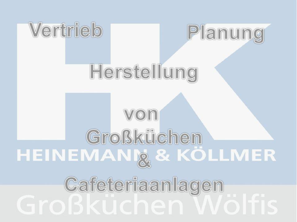 Vertrieb Planung Herstellung von Großküchen & Cafeteriaanlagen