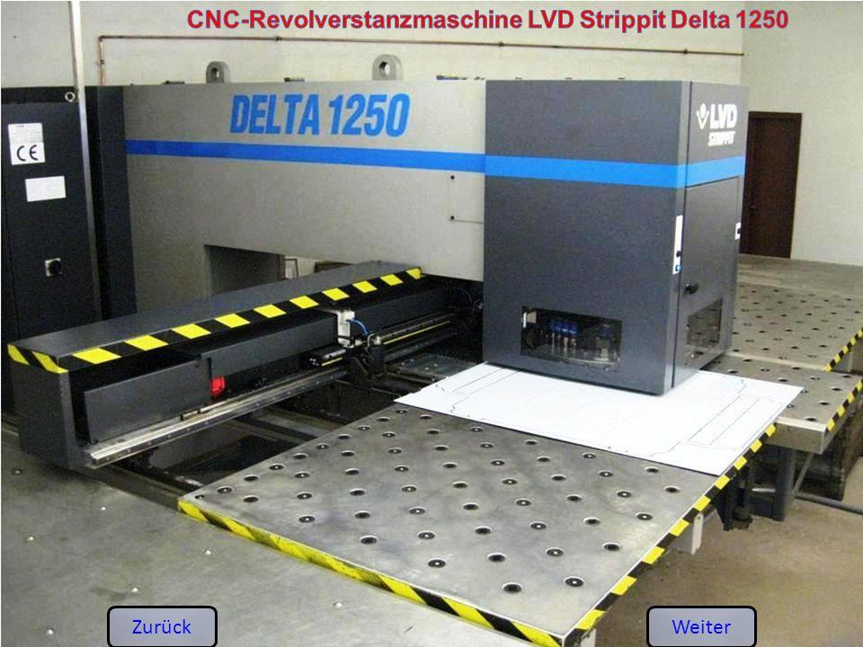 CNC-Revolverstanzmaschine LVD Strippit Delta 1250