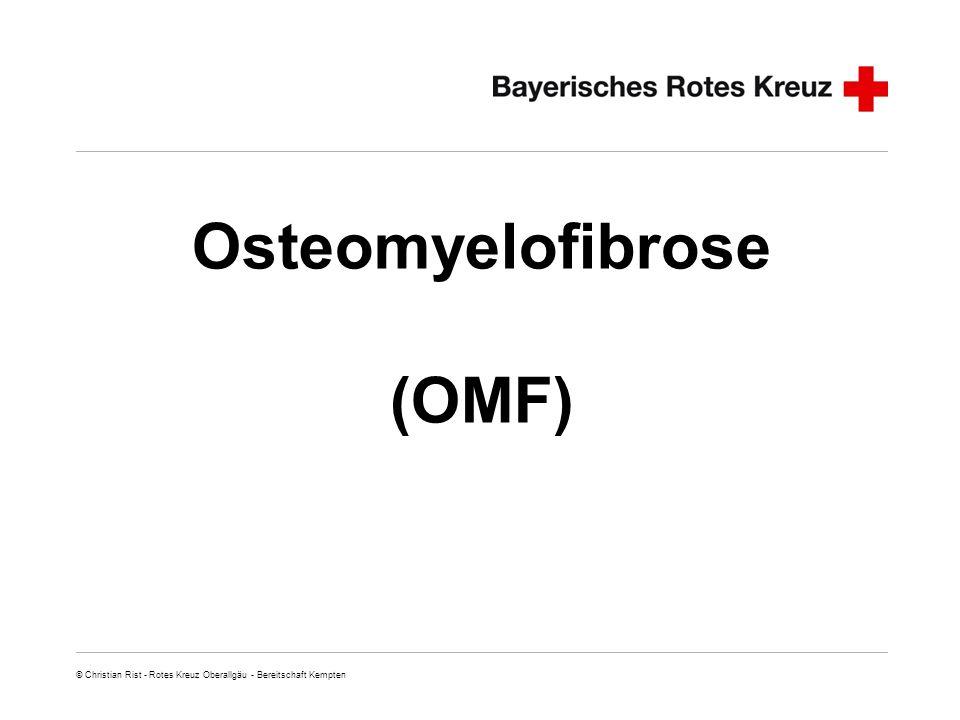 Osteomyelofibrose (OMF)