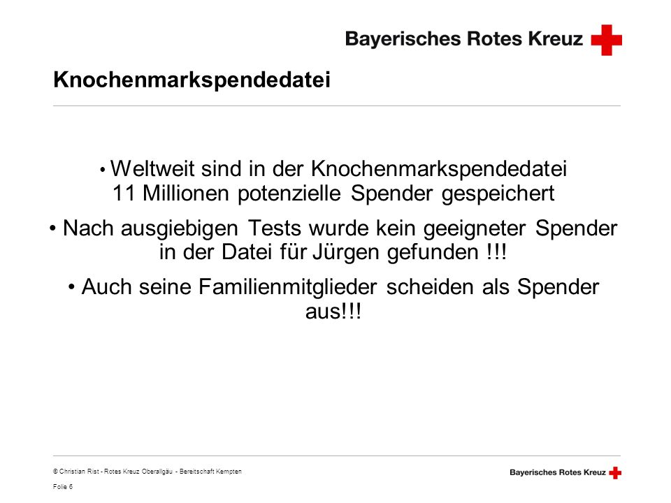 Knochenmarkspendedatei