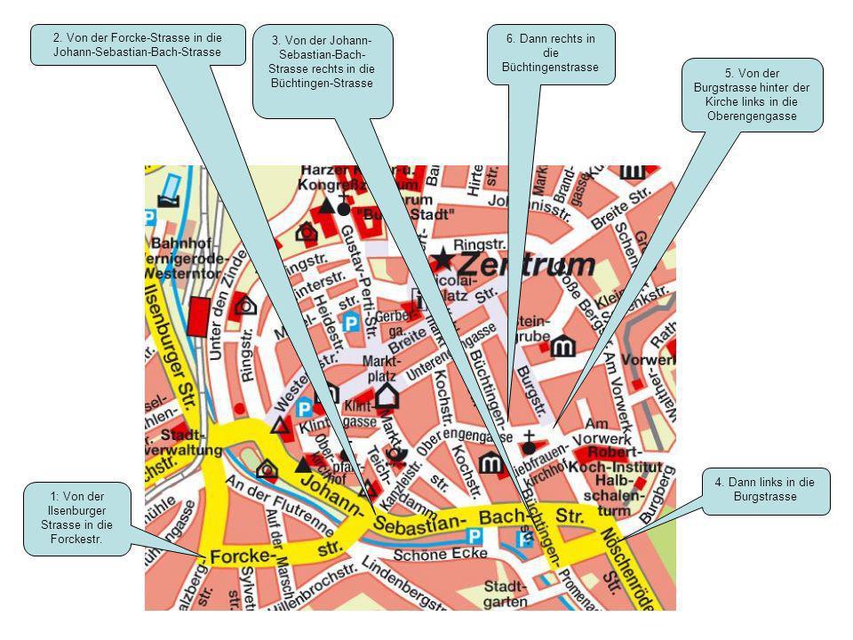 2. Von der Forcke-Strasse in die Johann-Sebastian-Bach-Strasse