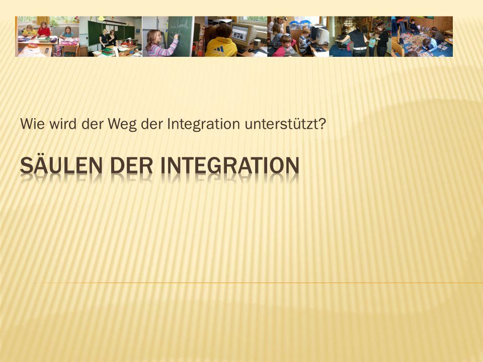 SÄULEN der Integration