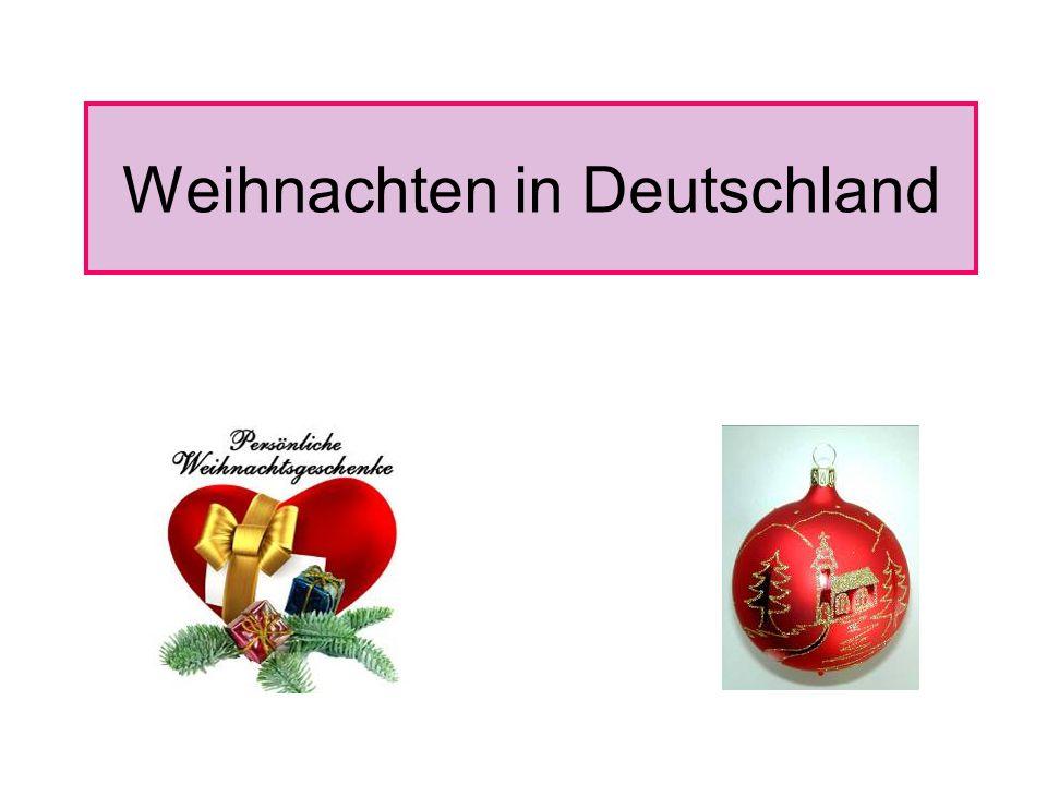 Weihnachten in Deutschland - ppt video online herunterladen
