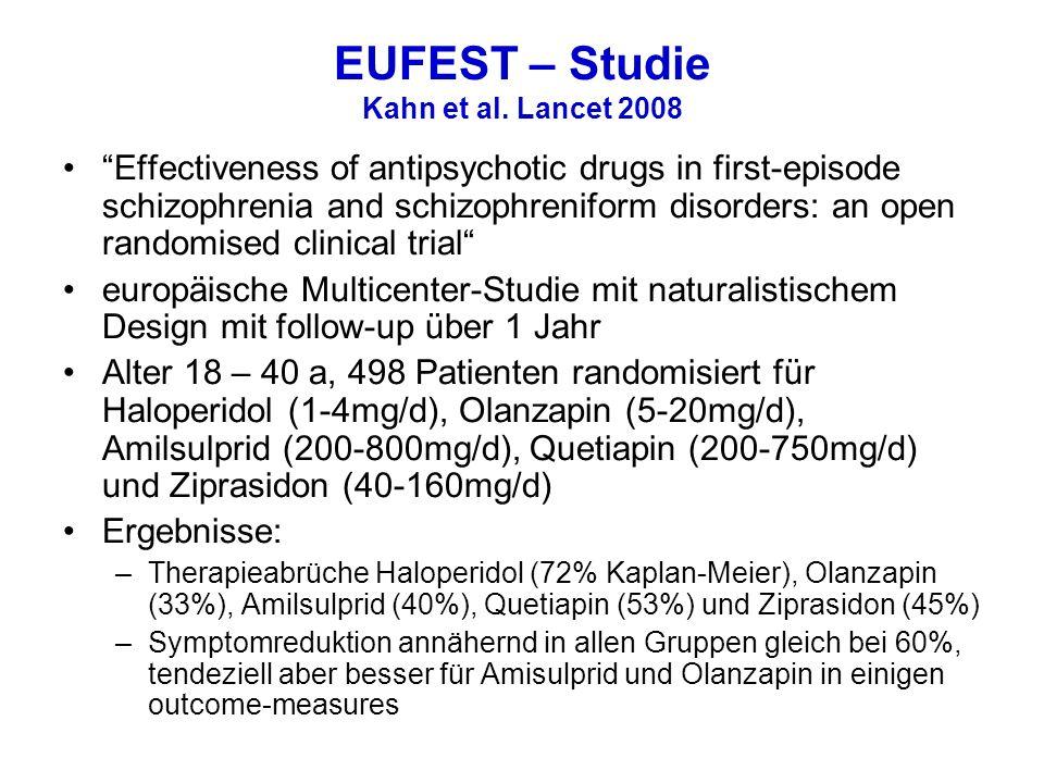 EUFEST – Studie Kahn et al. Lancet 2008