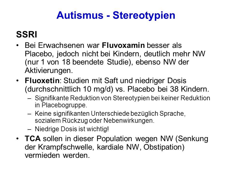 Autismus - Stereotypien