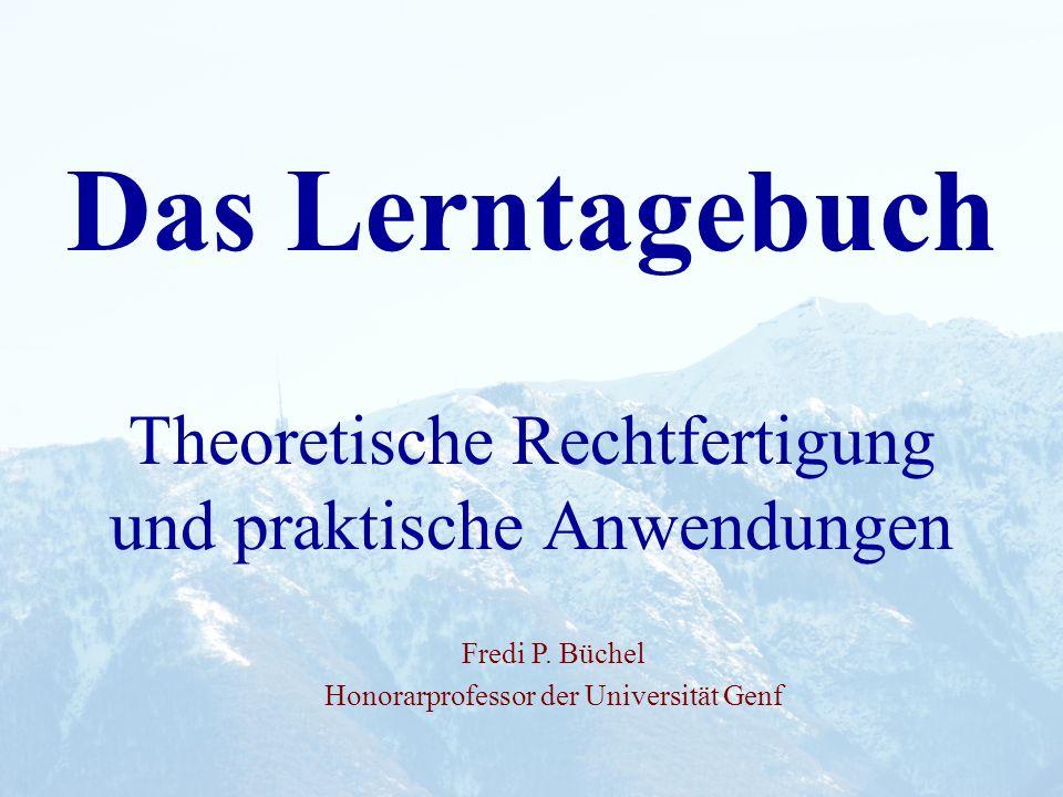 Theoretische Rechtfertigung und praktische Anwendungen