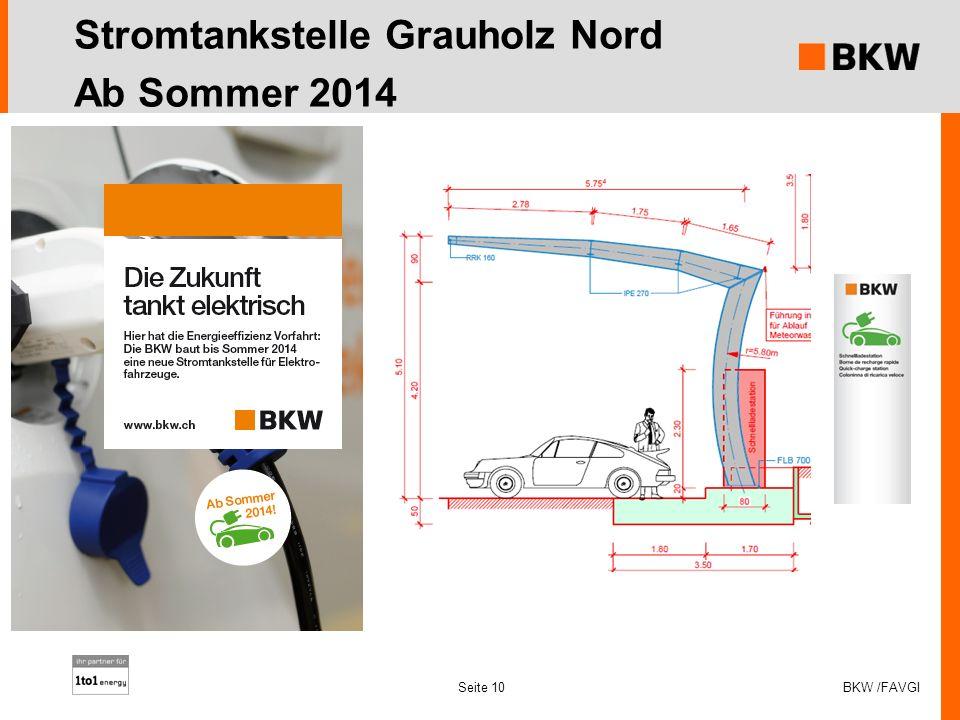 Stromtankstelle Grauholz Nord Ab Sommer 2014