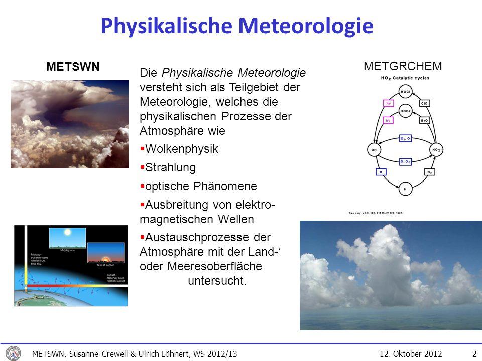 Physikalische Meteorologie