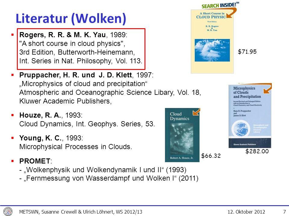 Literatur (Wolken) $71.95.