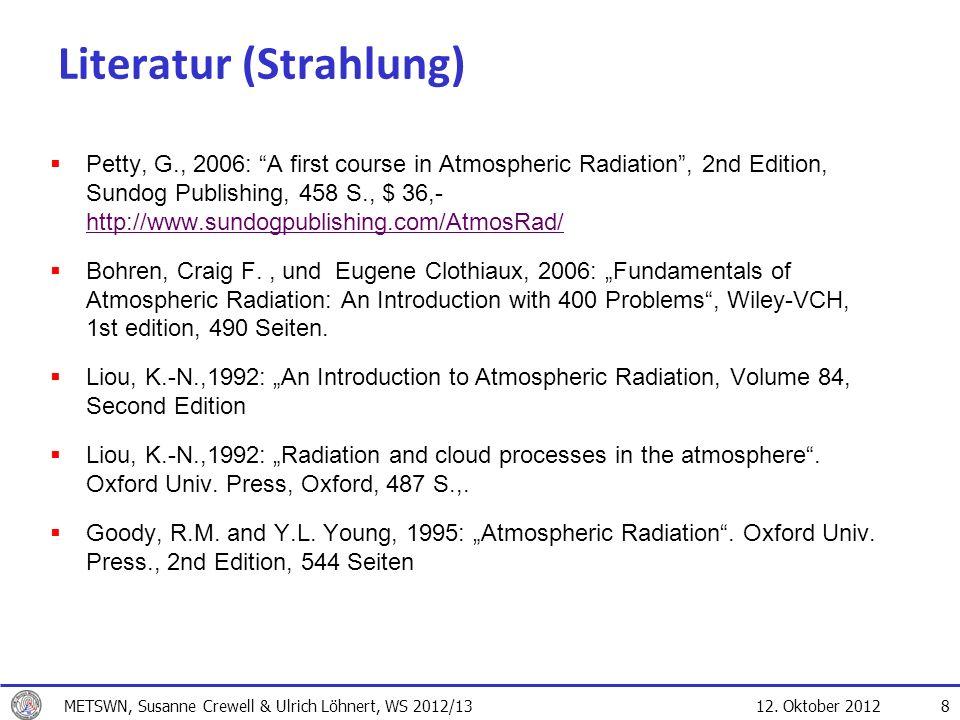 Literatur (Strahlung)