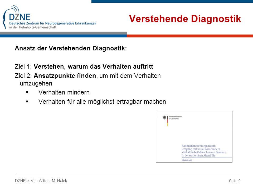 Verstehende Diagnostik