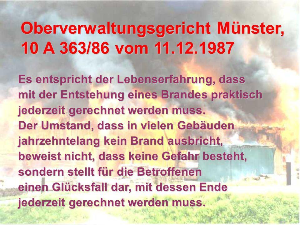 Oberverwaltungsgericht Münster, 10 A 363/86 vom 11.12.1987