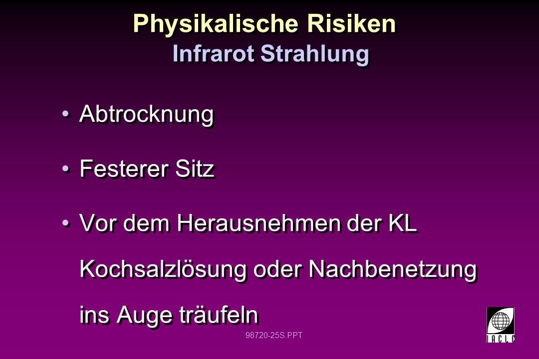 Physikalische Risiken