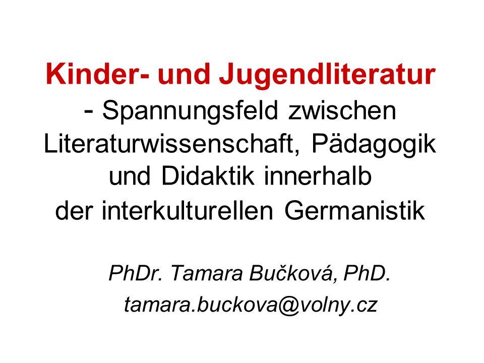 PhDr. Tamara Bučková, PhD. tamara.buckova@volny.cz