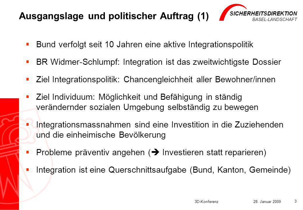 Ausgangslage und politischer Auftrag (1)