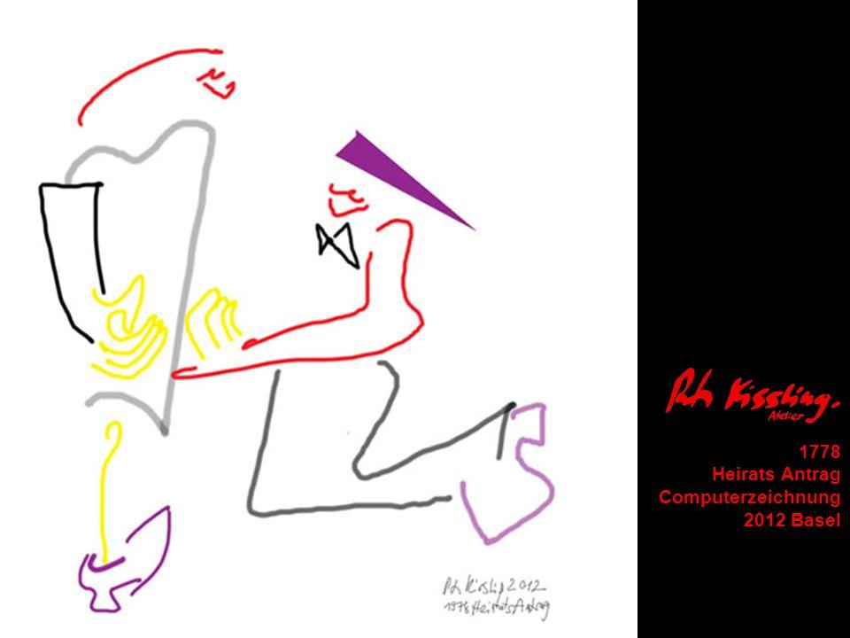 1778 Heirats Antrag Computerzeichnung 2012 Basel