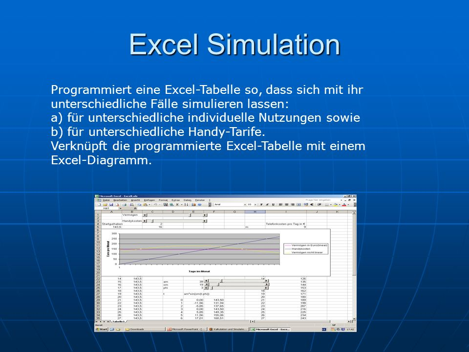 Excel Simulation