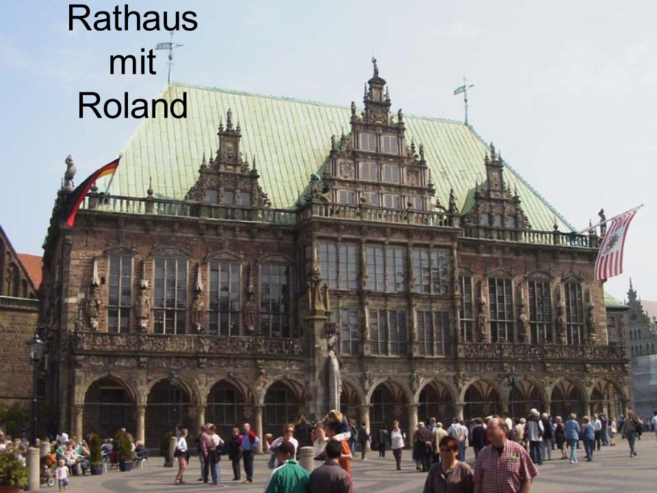 Rathaus mit Roland