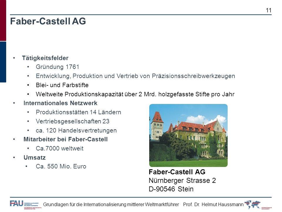 Faber-Castell AG Faber-Castell AG Nürnberger Strasse 2 D-90546 Stein