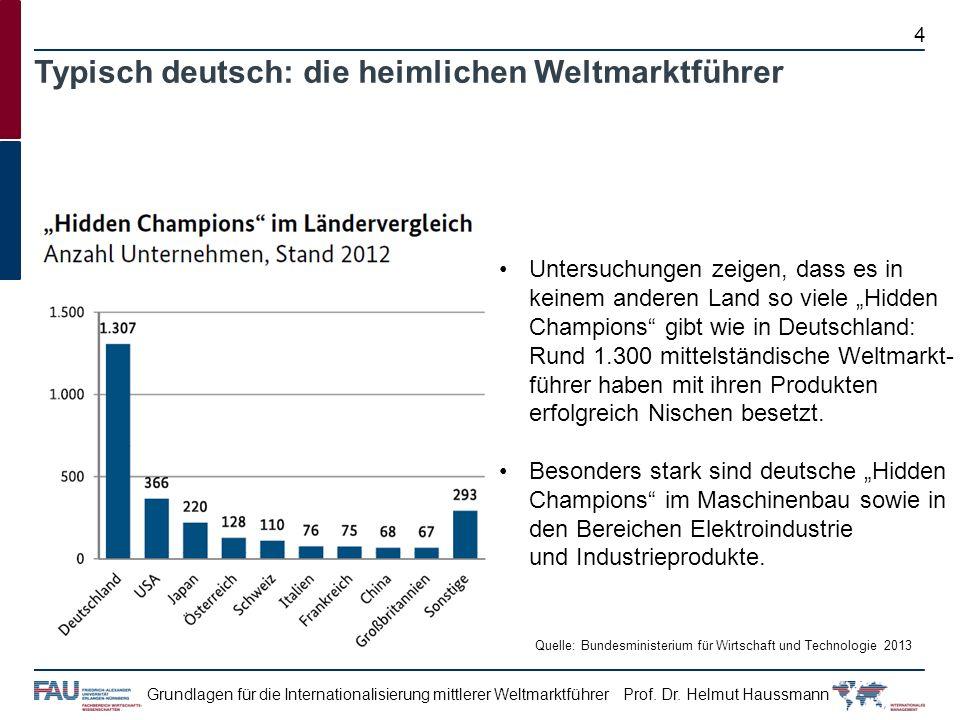 Typisch deutsch: die heimlichen Weltmarktführer