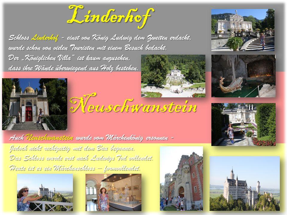 Linderhof Neuschwanstein