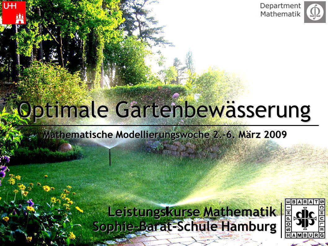 Optimale Gartenbewässerung