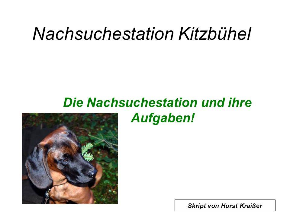 Nachsuchestation Kitzbühel