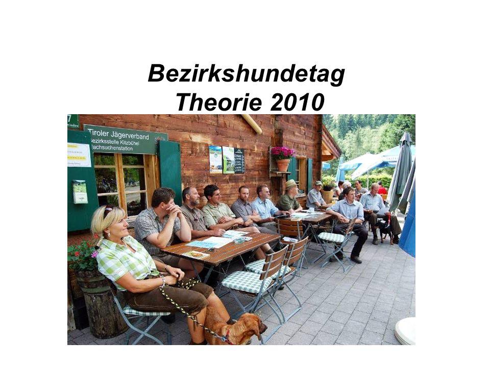 Bezirkshundetag Theorie 2010