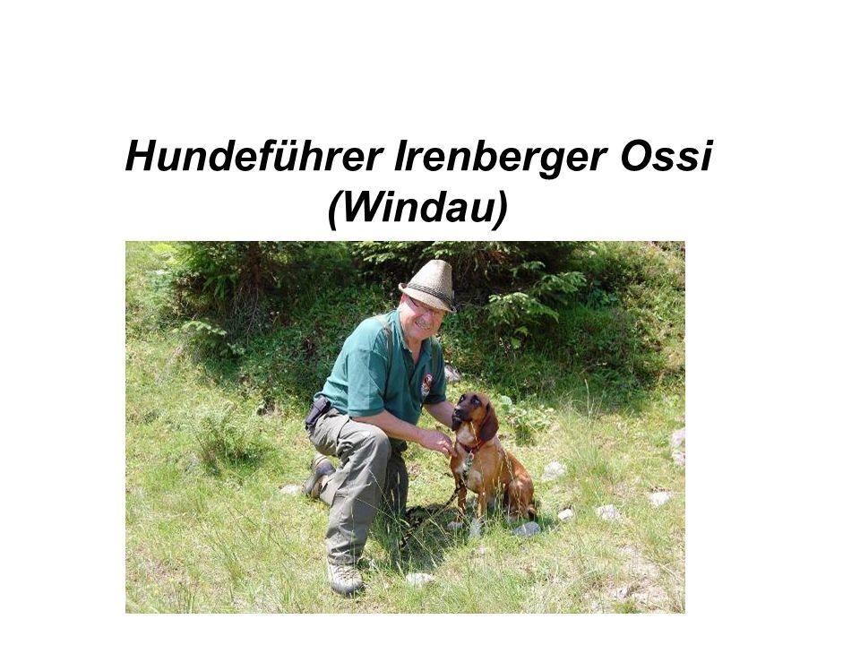 Hundeführer Irenberger Ossi (Windau)