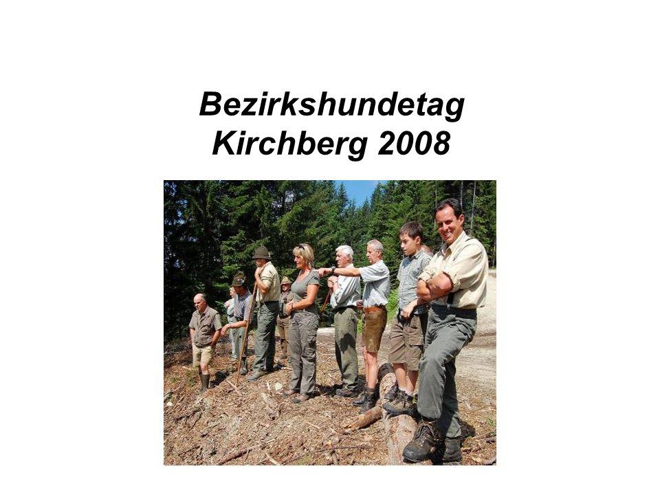 Bezirkshundetag Kirchberg 2008