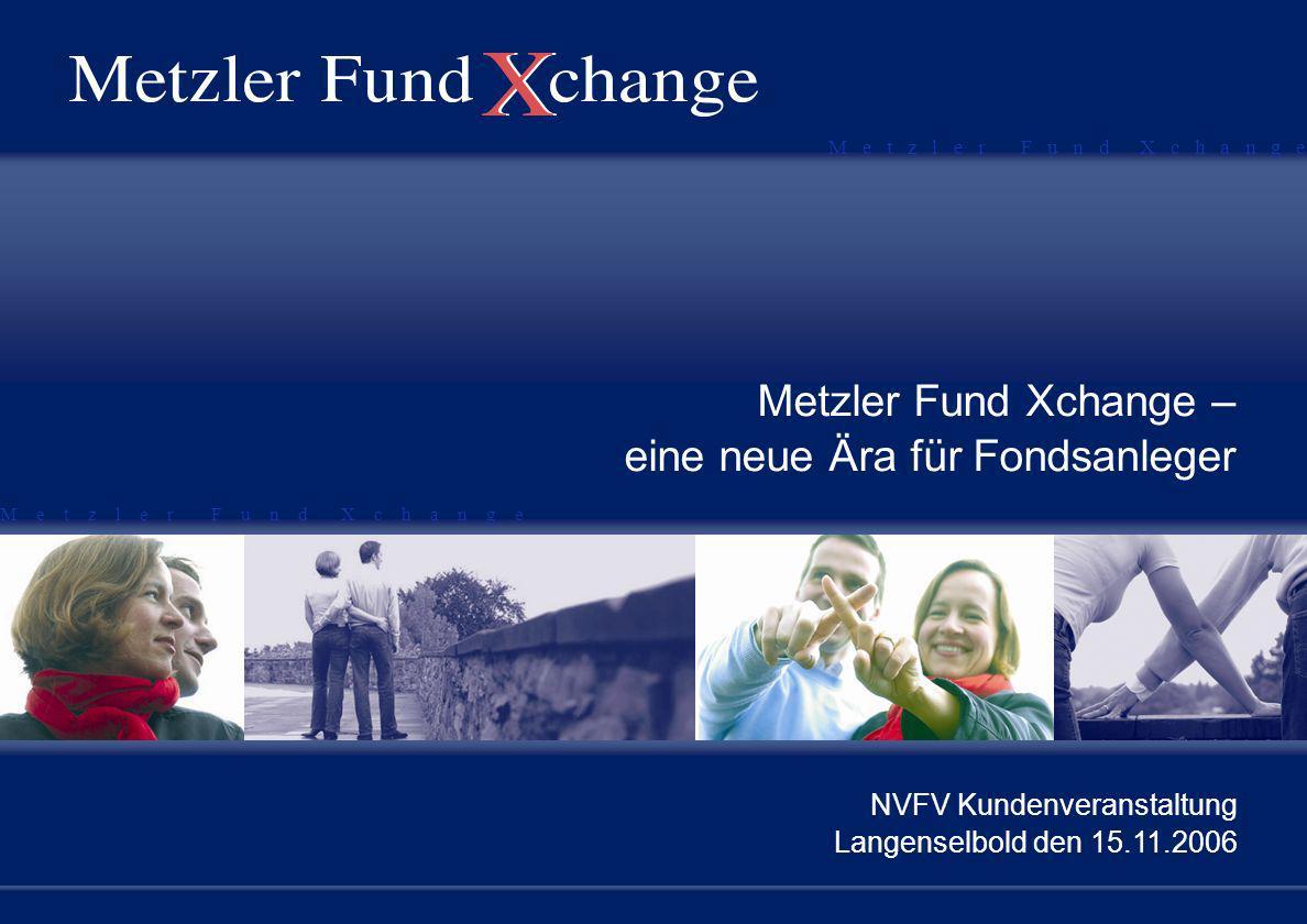Metzler Fund Xchange – eine neue Ära für Fondsanleger