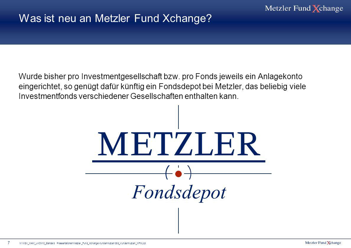 metzler fund xchange eine neue ra f r fondsanleger. Black Bedroom Furniture Sets. Home Design Ideas