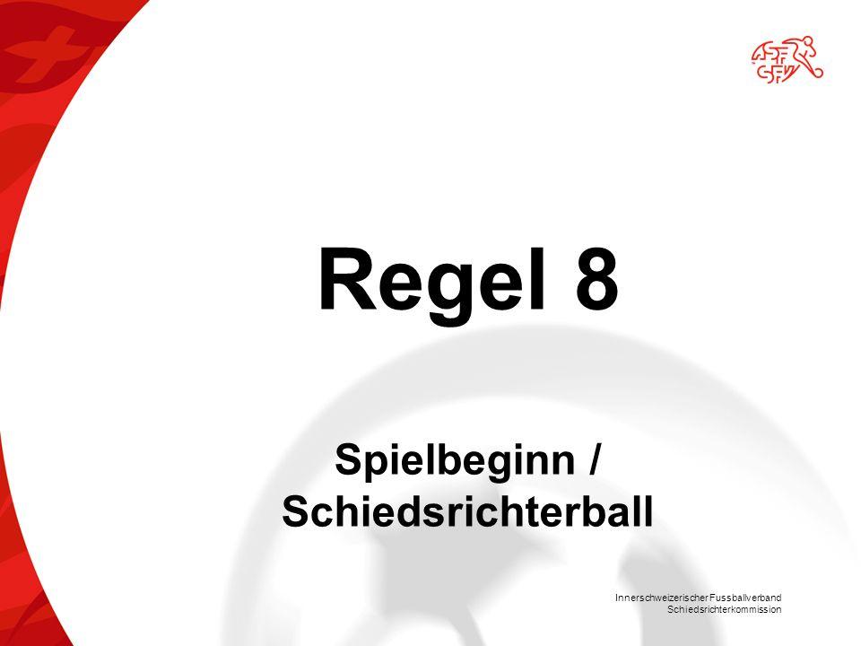 Spielbeginn / Schiedsrichterball