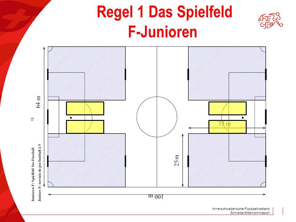 Regel 1 Das Spielfeld F-Junioren