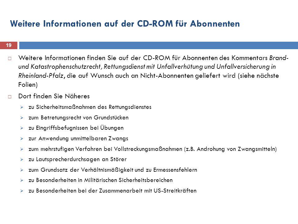 Weitere Informationen auf der CD-ROM für Abonnenten