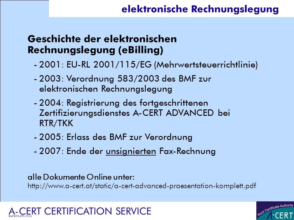 elektronische Rechnungslegung