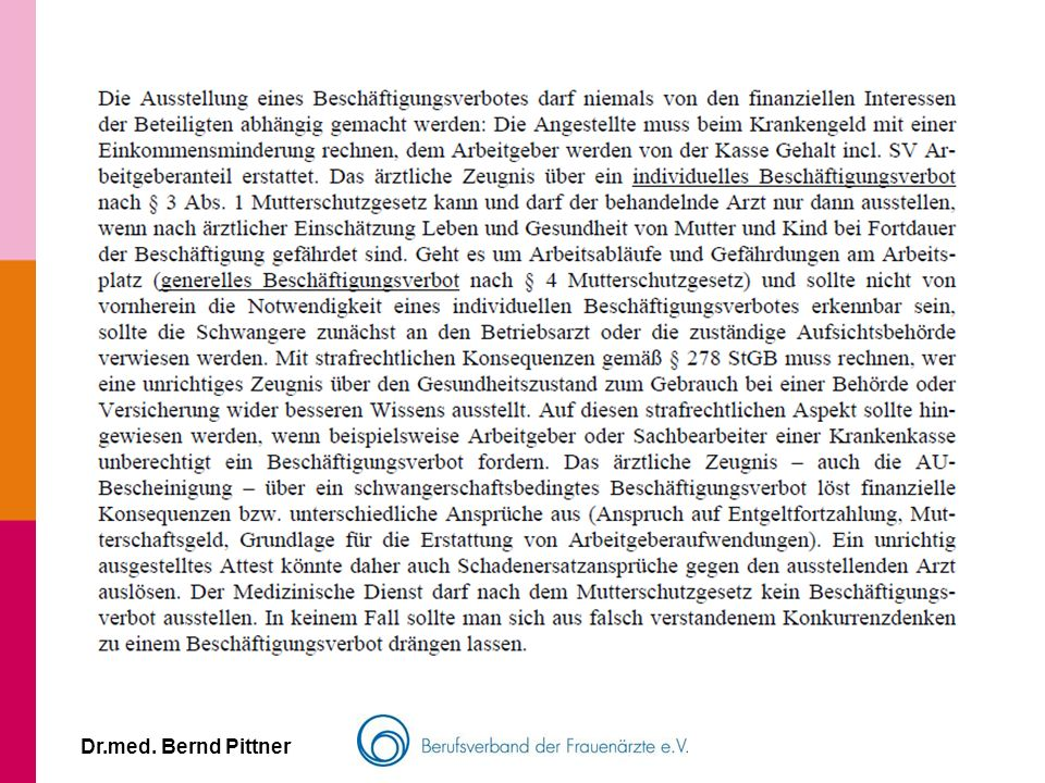 Dr.med. Bernd Pittner