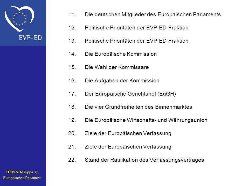 CDU/CSU-Gruppe im Europäischen Parlament