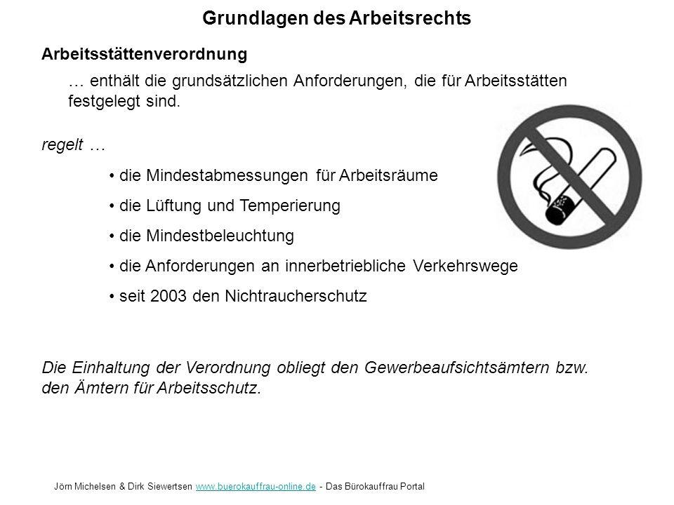 Arbeitsstättenverordnung