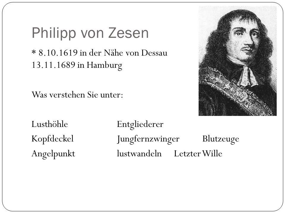 Philipp von Zesen