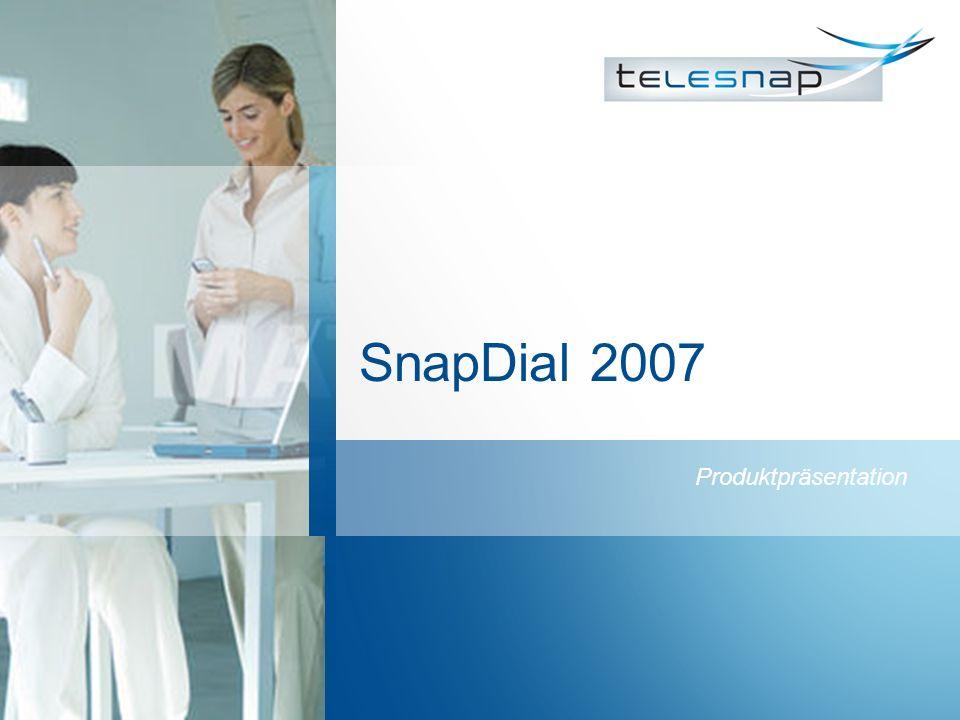 SnapDial 2007 Produktpräsentation