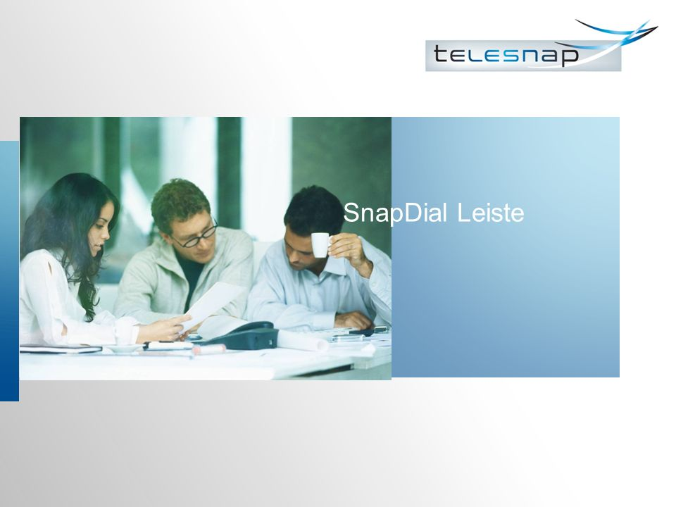 SnapDial Leiste