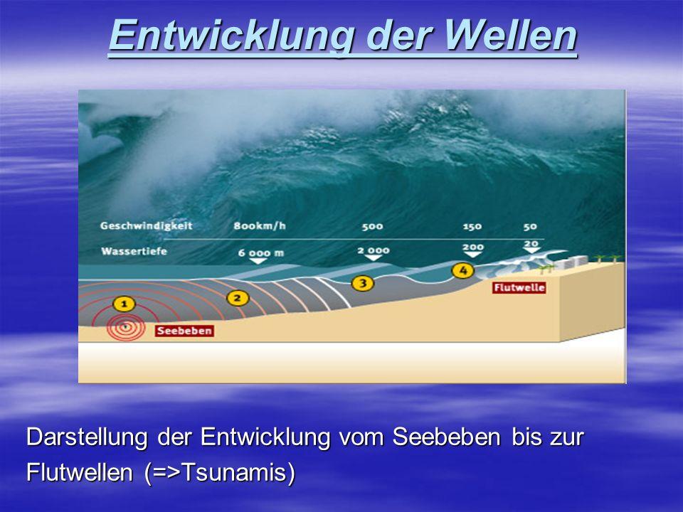 Entwicklung der Wellen