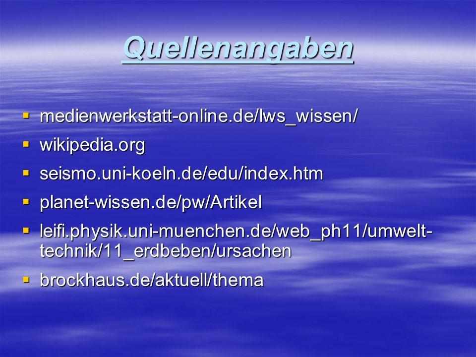 Quellenangaben medienwerkstatt-online.de/lws_wissen/ wikipedia.org