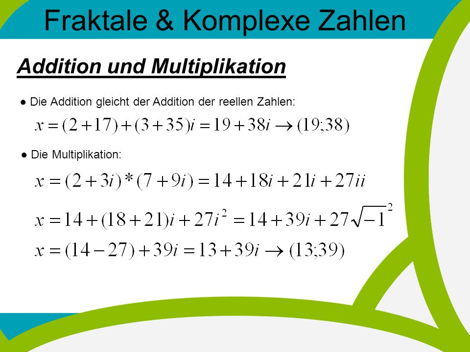 Fraktale & Komplexe Zahlen