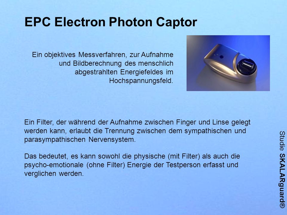 EPC Electron Photon Captor